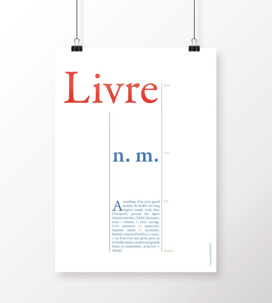 Définition // Poster format A3