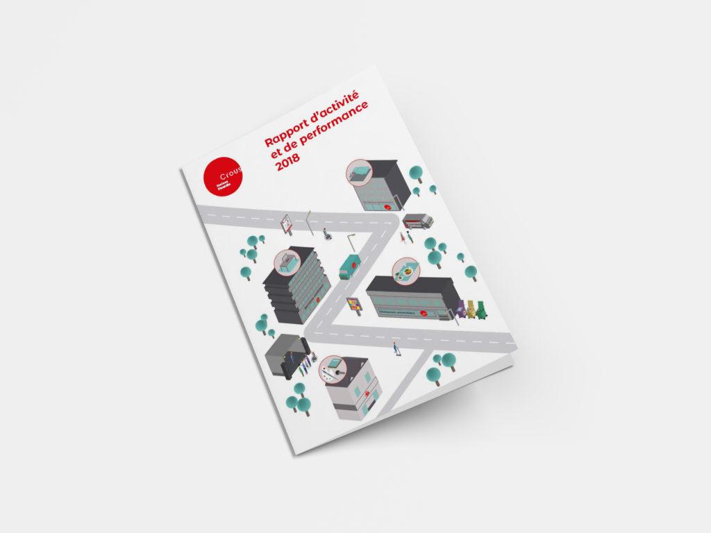 Couverture Rapport d'activité et de performance 2018